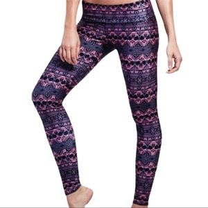 Onzie Sugar Skull & Cross active Leggings S/M